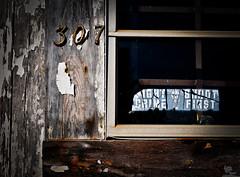 Warning shot (hutchphotography2020) Tags: warning crime windowsticker gun shoot chippedpaint texture nikon hutchphotography