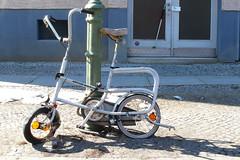 Kettler Alu-Rad (velostat.) Tags: cvelostat13086berlinlanghansstrase6 minibike kettleralurad aluminium