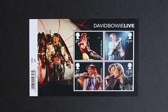 David Bowie Live - Mini Sheet (Darren...) Tags: david bowie stamps 2017