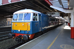 86259 Les Ross (Will Swain) Tags: 86259 les ross class 86 259 59 train trains rail railway railways transport travel uk britain vehicle vehicles country england english cheshire north west south county crewe station whilst working the cumbrian mountain express 25th march 2017 e3137