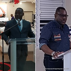 David Comissiong Vs. Democratic Labour Party as Hyatt Centric drags on... (bajanreporter) Tags: construction electoral family govt hotel opposition politics tourism voting