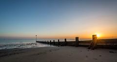 Thames Sunset (johngregory250666) Tags: thames sunset river london estuary beach southend sea uk england spring march imagesofengland nikon d5200 nikkor camera tide tidebreak sand view horizon orange yellow blue