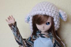 Hola!!! (Ninotpetrificat) Tags: doll dd dollfiedream dollfie mdd toys japantoy japandoll muñeca juguete ddh10 cute kawaii crochet handmade hobby
