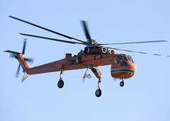 N176AC_S-64_CYVR_8727 (Mike Head -Jetwashphotos) Tags: sikorsky s64 s64e skycrane erickson ericksonaircrane yvr cyvr vancouverinternationalairport bc britishcolumbia canada westerncanada westernregion heavylift helilogging forestfirecontrol