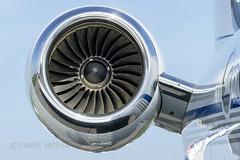 ROLLS-ROYCE DEUT BR700-710C411 (Turbo-fan) N989JC Private Gulfstream Aerospace G-V-SP Gulfstream G550 (_papa_mike) Tags: bizjet corporatejet gulfstream rollsroyce