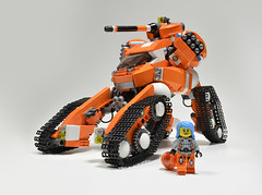 MDTDX Fiona Far (Klikstyle) Tags: lego exoforce mech tank laser cannon quadruped