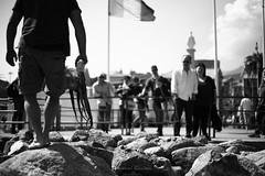 The protagonist|Arenzano|Italy (Giovanni Riccioni) Tags: arenzano liguria italy street blackandwhite blackwhite octopus polypus polipo polpo mare sea mollusk giovanniriccioniphotography canon canonef50mm18stm canon50mmf18 50mm fixlent focalefissa canoneos5d