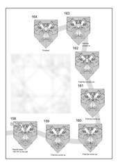 Masoto Kikuchi Firebird diagram (Mdanger217) Tags: masoto kikuchi origami firebird diagram max danger inkscape