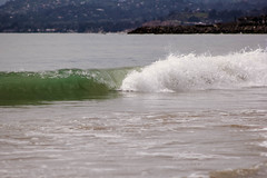 SBCarp032017-94 (MegzyTred) Tags: carpinteria state beach california carpinteriabeach santabarbara carp sb megzytred mightymightymegzy cliftonportraits wave breaking crest tide boogieboard spring waves ocean sea pacific beautiful reflection glassy glass seaweed windy sand rolling oil boat cloudy foam