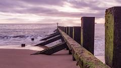Aberdeen Beach 5 (o1373k) Tags: groyne aberdeen beach seascape waterfront