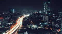 They live by night (gcarabin) Tags: building night india mumbai