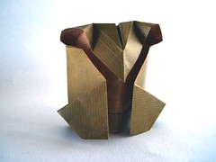 Owl - Madiyar Amerkeshev (Rui.Roda) Tags: origami papiroflexia papierfalten mocho coruja hibou buho eule owl madiyar amerkeshev