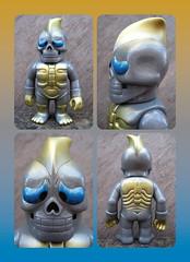 Hone Borg (The Moog Image Dump) Tags: real head fight figure japan japanese kaiju sofubi toy リアルヘッド hone borg rxh honeborg
