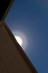 Sun Halo (heatharcadia) Tags: sun sky rainbow sunhalo atmosphericoptics