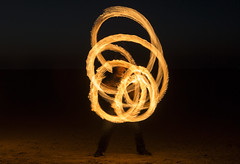 Fire Spinning at West Kirby Explored 8/4/2017 (David Chennell - DavidC.Photography) Tags: wirral fire firespinning lightpainting westkirby hotpotatocircus merseyside