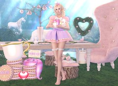 #158 Save me 'cus I'm fallen (Violet Batriani | Blogger | Model) Tags: secondlife secondlifefashion blog bento maitreya catya head hands aliceinwonderland easter naughty sexy cookie tea eat me drink try topia topiary heart pink white purple pastel kawaii ringlets mouth