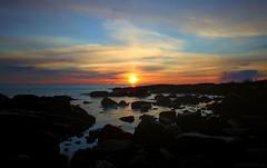 April sunset (Joni Mansikka) Tags: spring nature outdoor sunset sea shore rocky coast clouds sky colours dusk seascape balticsea kallo pori suomi suomi100 finland finland100 2470mmf28exdg