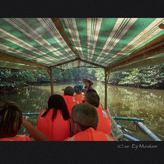 Mangrove Paddle Boat Tour (Eiji Murakami) Tags: philippines palawan sabang mangrove olympus tg4 フィリピン パラワン サバン