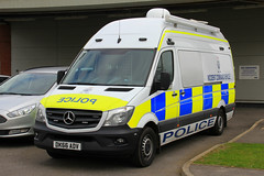 Cheshire Police Brand New Mercedes Sprinter Incident Command Vehicle (PFB-999) Tags: cheshire police constabulary new mercedes sprinter incident command control unit van vehicle icu light modules grilles fendoffs leds dk66adv headquarters hq