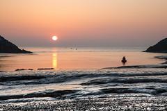 Early morning glory (judethedude73) Tags: water reflection light sun sunshine sunrise photography sea harbour rays sand tide