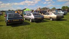 ford capris mk3s (xr282) Tags: ripon racecourse classic car show ford capri mk3