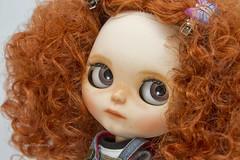 Becky (Sweet Memories58) Tags: blythe customblythe pelirroja pelorizado fake blythefake sweetmemories58