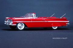 1959 IMPALA 5 (DOLPHIN☆CRAFT) Tags: 1959 chevrolet impala convertible monogram シボレー インパラ コンバーチブル モノグラム プラモデル