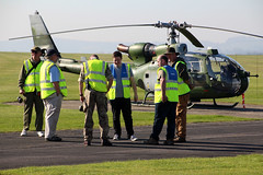 The Threshold Team (NTG's pictures) Tags: middlewallop hampshireengland gazelle50th anniversary fly in aac alat raf faa the threshold team