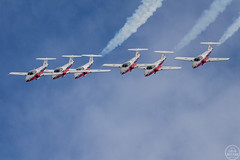 The 2017 RCAF Snowbirds! (C McCann) Tags: rcaf snowbirds ct114 tutor 431 air demonstration squadron 431ads cfbcomox comox bc britishcolumbia vancouver island canada airshow planes aircraft airplanes jet trainers