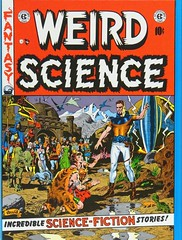 "Back cover of Volume 3. ""The Complete Weird Science"" published by Russ Cochran, (1978). Four hardcover volumes.  1st ed. (lhboudreau) Tags: comiccover comicbookcover comicart coverart russcochran hardcover hardcovers bookcover bookcovers bookart 1978 completeweirdscience thecompleteweirdscience comicbook comicbooks comic comics colorcomics vintagecomic vintagecomics vintagecomicbook vintagecomicbooks colorcomic weirdscience eccomics 1950 feldstein alfeldstein aliens sciencefiction sciencefictionstories volume3 entertainingcomics ec comicbookmagazine artwork illustration spaceship backcover"