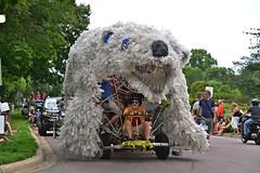 2015 Art Car Parade (schwerdf) Tags: artcarparade artshanties costumes lakeharriet minneapolis minneapolisartcarparade minnesota pedalbearartshanty unitedstates