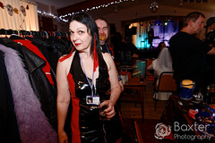 IMG_06222126_1553_DxO (PeeBee (Baxter Photography)) Tags: immortal fun party event sexy sunday whitby 2016 nov november goth gothic alternative yorkshire uk england music dance punk alt catriona cate woman brunette cleavage red black vinyl pvc dress