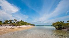 The Boca Chita Key Beach. © ® (The city guy ☺) Tags: bocachicabeach miamifl miamikeys bay blue beach beachscape seashore skies colors clouds exploration walking waterways walkingaround keys outdoors