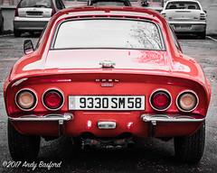 Opel GT, Donzy, the Nièvre, January 2017 (serial_snapper) Tags: républiquefrançaise adamopelag roadvehicle nièvredépartement bourgognefranchecomtérégion donzy bourgognefranchecomté france fr