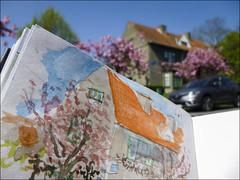 Cité Floréal (chando*) Tags: croquis sketch urbansketching watercolor aquarelle