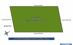 Lot 5307, Springs Road, Spring Farm NSW
