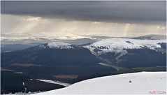 A Winters View Bennachie (The Terry Eve Archive) Tags: crepuscularrats bennachie cairngorms mithertap hills mountains snow landscape riverdon aberdeenshire scotland
