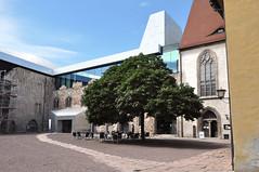 Deutschland Halle Saale DSC_1049A (reinhard_srb) Tags: kunstmuseum moritzburg sachsen anhalt kunst museum anbau moderne innenhof