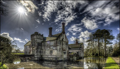 Baddesley Clinton 9 (Darwinsgift) Tags: baddesley clinton national trust moated manor nikkor 19mm f4 pc pce e mf ed tilt shift sun nikon d810 hdr photomatix multiple exposure warwick flickr