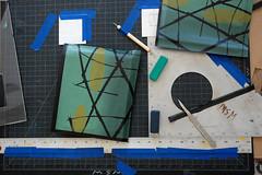 Veronica Graham in the Studio (Women's Studio Workshop) Tags: bookbinding bookarts bookartist silkscreen silkscreenstudios screenprinting screenprint printmaking printmakingresidency print