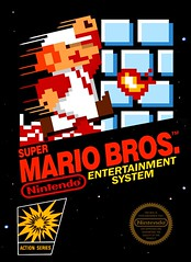 Video Game: Super Mario Bros. (Hobbycorner) Tags: nes nintendo mario cartridge cartdriges game games 1985 luigi toadstool bowser mushroom kingdom princess gaming tetris russia