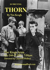 World premiere Thorn @keoboy1 @Chaaanchannn 24-25 July @kingssalford @GMFringe www.greatermanchesterfringe.co.uk #Salford (gmfringe) Tags: thorn kingsarms salford davidbowie glamrock 1970s manchester mancunian childhood thesmiths catholic priest stevenpatrick bedroom playground smoking juveniles bullying starman greatermanchesterfringe gmfringe england uk britain stage performance events entertainment what'son actors drama theatre july 2017 lancashire festival variety comedy newwriting play timkeogh worldpremiere bw blackandwhite history musical taunts chantellwalker teenage skinhead gangs school brutal headteacher solace