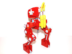 Backside (Piece of Slice) Tags: fire fighter lego dalmatian mech
