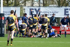 E3N01691 Amstelveen ARC1 v Eemland RC1 (KevinScott.Org) Tags: amsterdam rugby arc rc amstelveen 2014 eemland platefinal kevinscott kevinscottorg