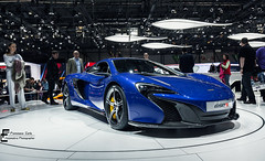 Aurora Blue (Francesco Carlo | Automotive Photographer) Tags: auto show blue canon eos stand amazing wiking geneva image mclaren aurora motor 28 usm af epic 2014 1755 ultrasonic coupè stabilizer 650d 650s fcarphoto