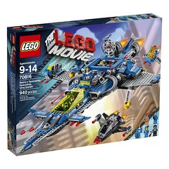 LEGO The Movie 70816 - Benny's Spaceship, Spaceship SPACESHIP ! (THE BRICK TIME Team) Tags: brick movie lego space police spaceship mechwarrior