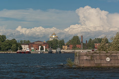 Naval Cathedral (Alexander Pugatschewski) Tags: city architecture naval cathdral kronstadt neobyzantine kosyakov