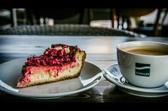 Schiller has the best cheesecake (Melissa Maples) Tags: food coffee café turkey dessert restaurant nikon asia türkiye cheesecake antalya nikkor francos vr afs schiller 尼康 18200mm 土耳其 f3556g ニコン 18200mmf3556g d5100