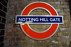 Notting Hill Gate Tube Circle Line (Rovers number 9) Tags: uk england london sony april a77 2014 tubesign sonya77 april2014 sonyaf1650f28ssm