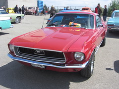 American Live, Luterbach 04.05.2014 (v8dub) Tags: auto old classic ford car schweiz switzerland automobile suisse muscle live meeting automotive voiture pony american oldtimer mustang oldcar coupé collector fastback wagen luterbach pkw klassik